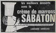 Sabaton chestunt purée label