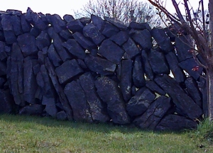 Irish windy wall