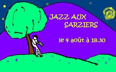 AFFICHETTE  Jazz aux Sarziers