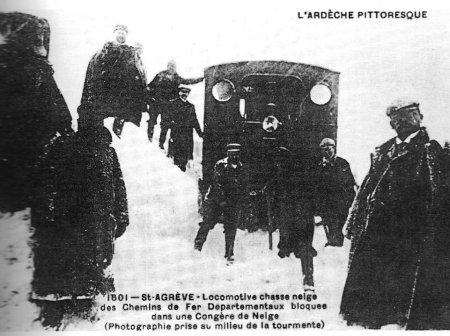 postcard snowdrift