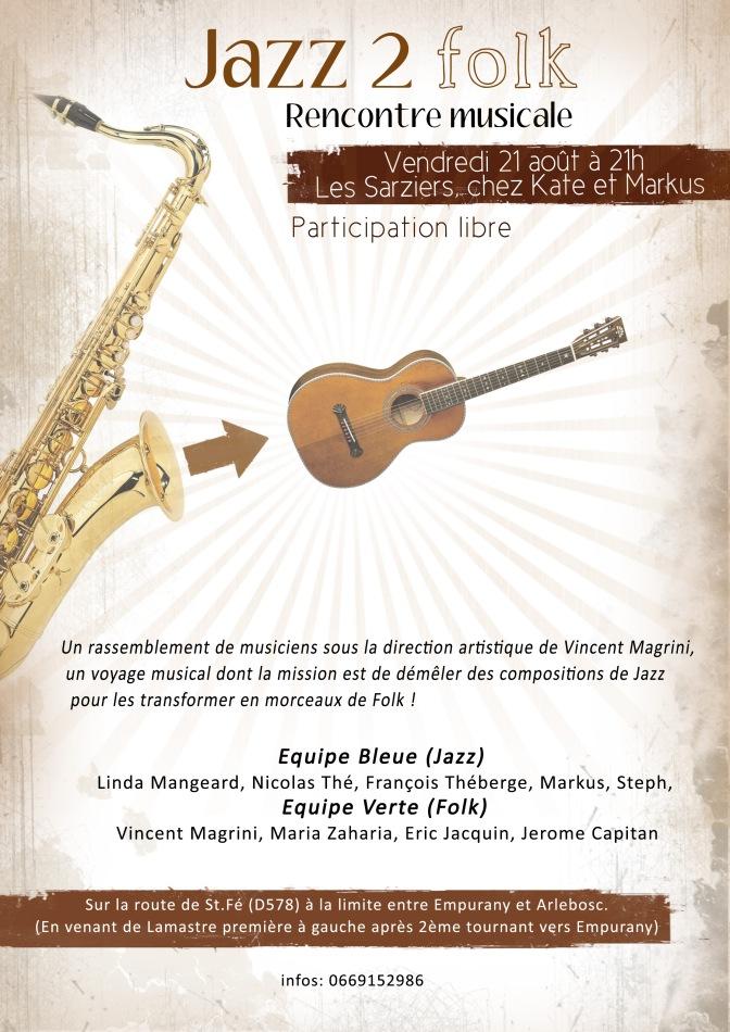 affiche Jazz2folk 1