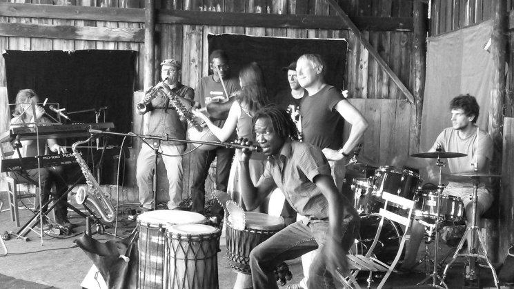 Afro Jazz at la Ferme Thé