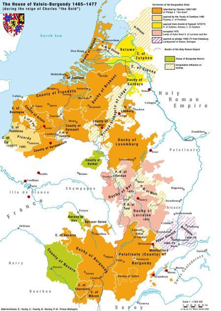 Burgundy map