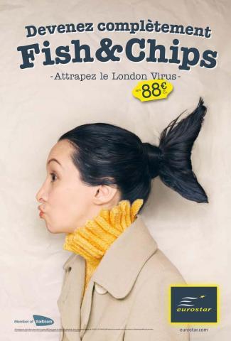 Eurostar L-Fish--Chips. TBWA